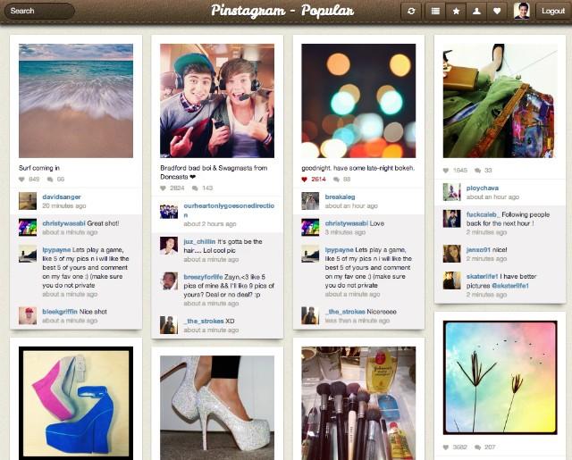 О,волшебство: Pinterest соединили с Instagram