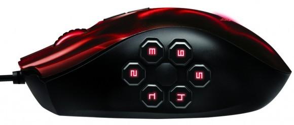 Razer Naga Hex Wraith Red Edition - Игровая мышь в алом