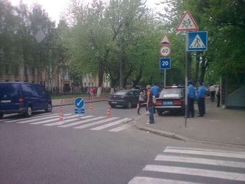 3 июня в Киеве был совершён наскок на мать с малышом
