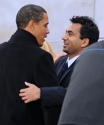 кел Пенн и Обама